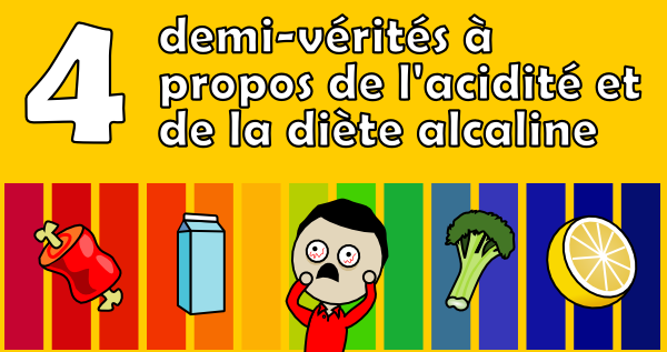 aa81084f5637a8 4 demi-vérités à propos de l'acidité et de la diète alcaline